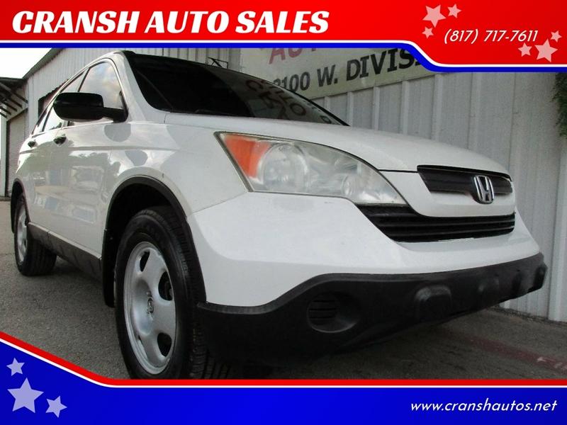 2007 Honda CR V LX 4dr SUV   Arlington TX
