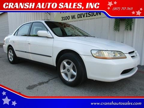 1998 Honda Accord for sale in Arlington, TX