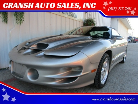 2002 Pontiac Firebird for sale in Arlington, TX