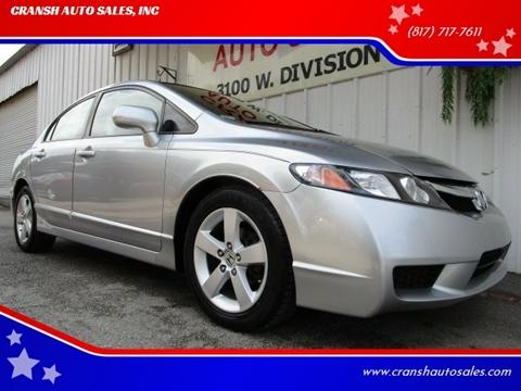 2009 Honda Civic For Sale >> Honda Civic For Sale In Arlington Tx Cransh Auto Sales Inc