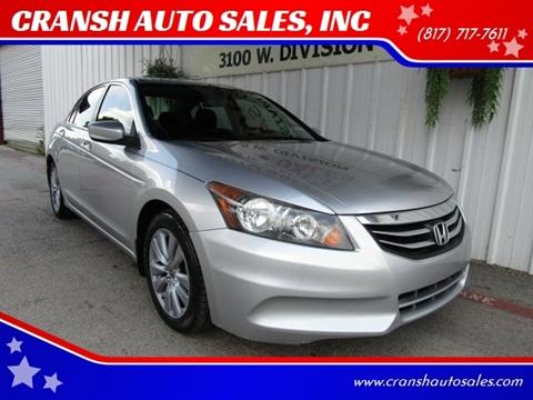 2011 Honda Accord For Sale >> Honda For Sale In Arlington Tx Cransh Auto Sales Inc