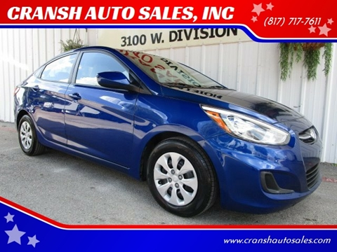 2015 Hyundai Accent for sale in Arlington, TX