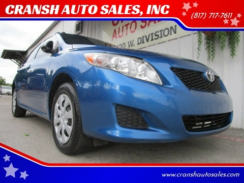 2010 Toyota Corolla for sale in Arlington, TX