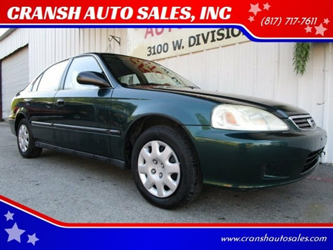 2000 Honda Civic for sale in Arlington, TX