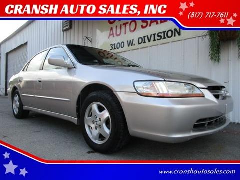 1999 Honda Accord for sale in Arlington, TX