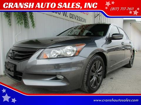 2012 Honda Accord for sale in Arlington, TX