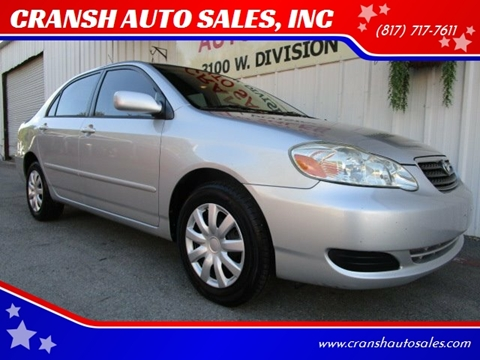 2005 Toyota Corolla for sale in Arlington, TX