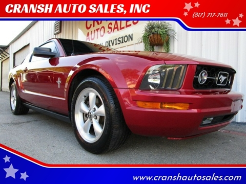 2007 Ford Mustang for sale in Arlington, TX