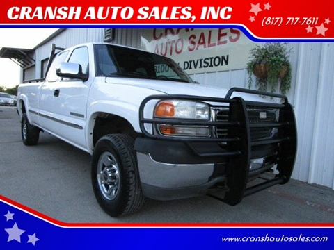 2001 GMC Sierra 2500HD for sale in Arlington, TX