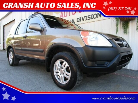 2003 Honda CR-V for sale in Arlington, TX