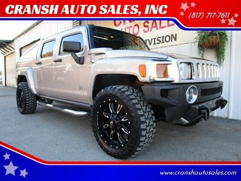 2009 HUMMER H3T for sale in Arlington, TX