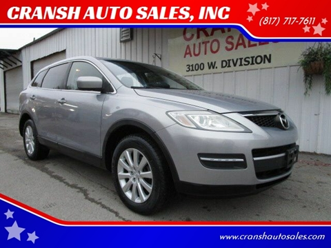 2008 Mazda CX-9 for sale at CRANSH AUTO SALES, INC in Arlington TX