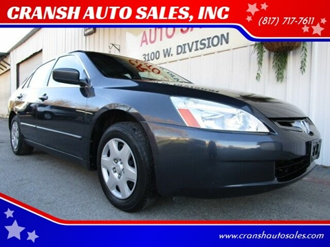 2005 Honda Accord for sale in Arlington, TX