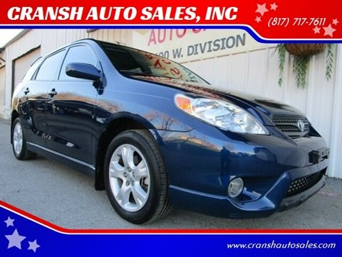 2008 Toyota Matrix for sale in Arlington, TX