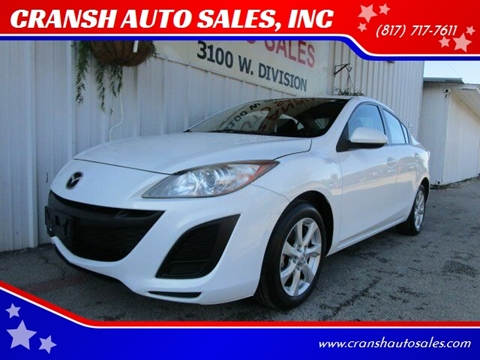 2011 Mazda MAZDA3 for sale at CRANSH AUTO SALES, INC in Arlington TX
