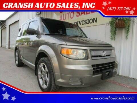 2007 Honda Element for sale at CRANSH AUTO SALES, INC in Arlington TX