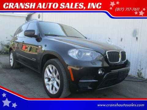 2011 BMW X5 for sale at CRANSH AUTO SALES, INC in Arlington TX