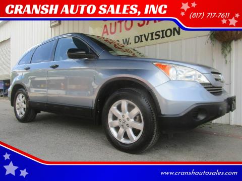 2007 Honda CR-V for sale at CRANSH AUTO SALES, INC in Arlington TX