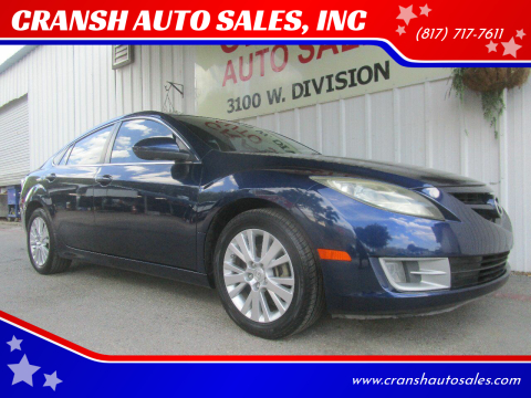 2009 Mazda MAZDA6 for sale at CRANSH AUTO SALES, INC in Arlington TX