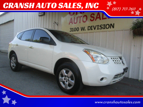 2010 Nissan Rogue for sale at CRANSH AUTO SALES, INC in Arlington TX