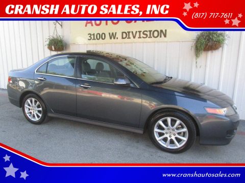 2006 Acura TSX for sale at CRANSH AUTO SALES, INC in Arlington TX