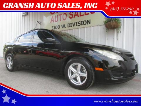 2009 Mazda MAZDA6 for sale at CRANSH AUTO SALES, INC in Arlington TX