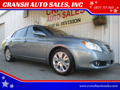 2009 Toyota Avalon for sale at CRANSH AUTO SALES, INC in Arlington TX