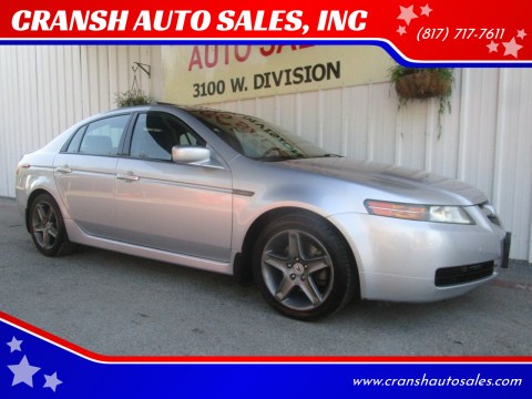 2004 Acura TL for sale at CRANSH AUTO SALES, INC in Arlington TX