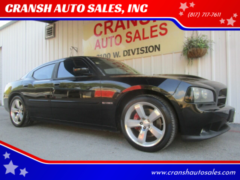 2007 Dodge Charger for sale at CRANSH AUTO SALES, INC in Arlington TX