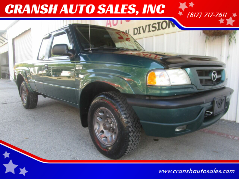 2001 Mazda B-Series Pickup for sale at CRANSH AUTO SALES, INC in Arlington TX