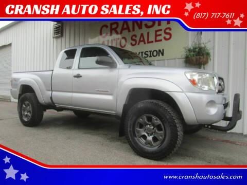 2008 Toyota Tacoma for sale at CRANSH AUTO SALES, INC in Arlington TX