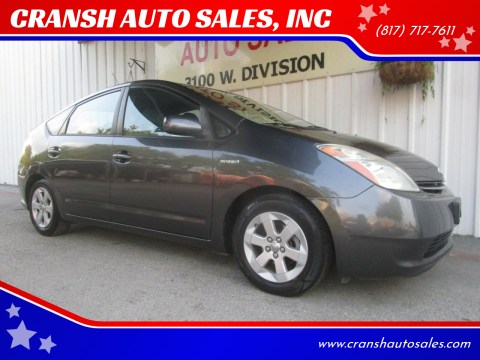 2008 Toyota Prius for sale at CRANSH AUTO SALES, INC in Arlington TX