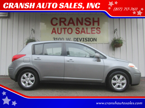 2009 Nissan Versa for sale at CRANSH AUTO SALES, INC in Arlington TX