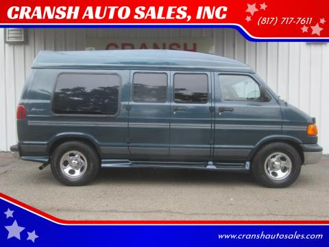 2003 Dodge Ram Van for sale at CRANSH AUTO SALES, INC in Arlington TX