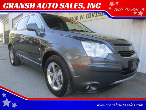 2013 Chevrolet Captiva Sport for sale at CRANSH AUTO SALES, INC in Arlington TX