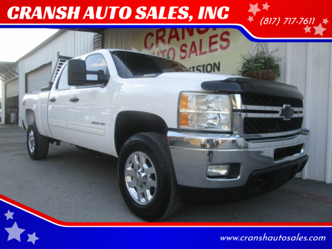 2011 Chevrolet Silverado 2500HD for sale at CRANSH AUTO SALES, INC in Arlington TX