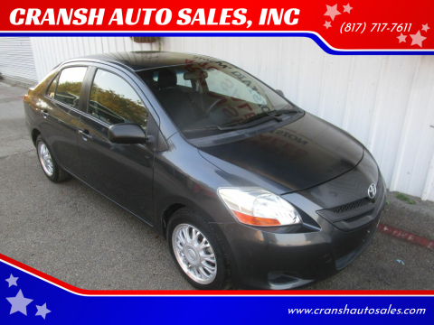 2007 Toyota Yaris for sale at CRANSH AUTO SALES, INC in Arlington TX