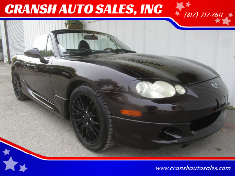 2004 Mazda MX-5 Miata for sale at CRANSH AUTO SALES, INC in Arlington TX