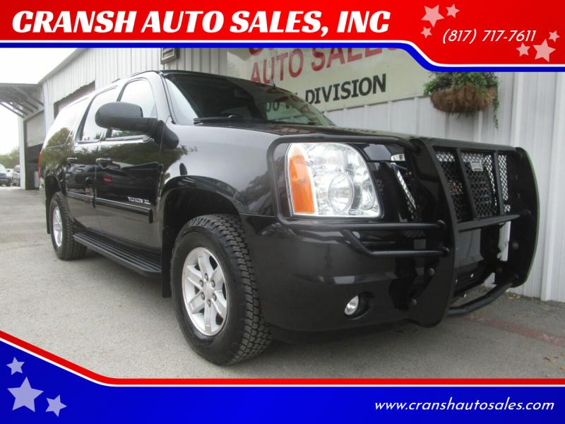 2011 GMC Yukon XL for sale at CRANSH AUTO SALES, INC in Arlington TX