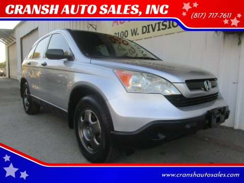 2009 Honda CR-V for sale at CRANSH AUTO SALES, INC in Arlington TX