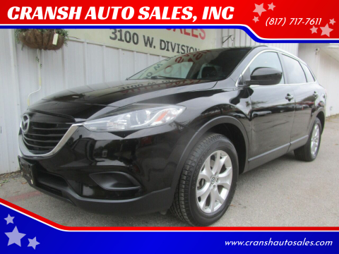 2013 Mazda CX-9 for sale at CRANSH AUTO SALES, INC in Arlington TX