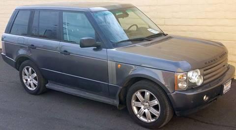 2004 Land Rover Range Rover for sale in Sacramento, CA