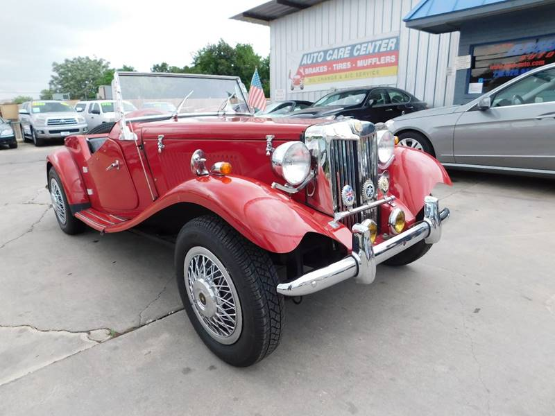 1952 Mg Replica Td Replica TD In San Antonio TX - AMD AUTO