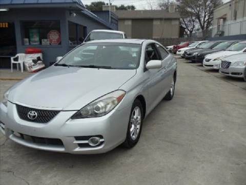 2007 Toyota Camry Solara for sale at AMD AUTO in San Antonio TX