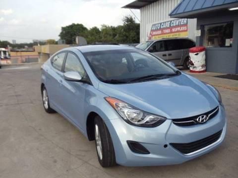 2013 Hyundai Elantra for sale at AMD AUTO in San Antonio TX