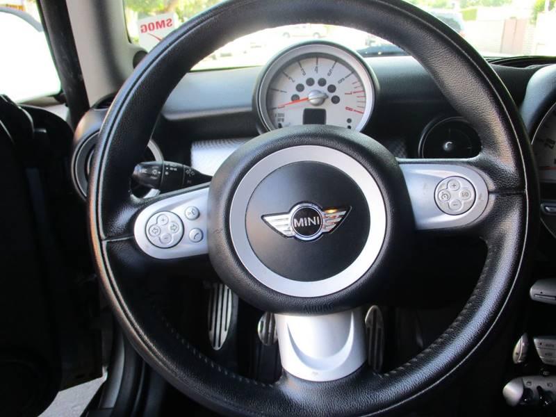 2009 MINI Cooper S 2dr Hatchback - Van Nuys CA