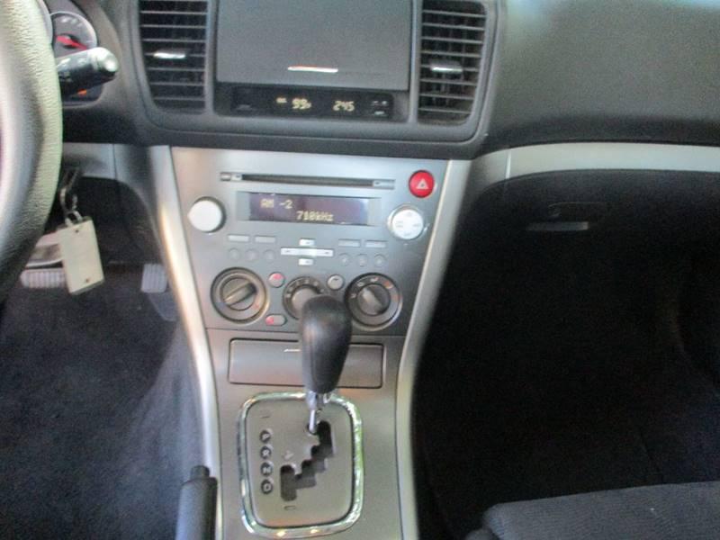 2008 Subaru Legacy AWD 2.5i 4dr Sedan 4A - Van Nuys CA