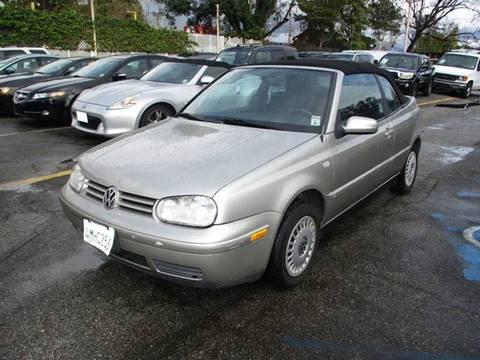 Volkswagen Cabrio For Sale In California Carsforsalecom - Volkswagen in california