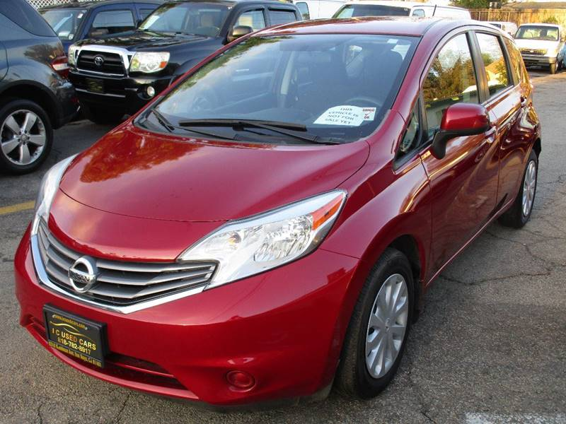 2014 Nissan Versa Note S 4dr Hatchback In Van Nuys CA - I C Used Cars