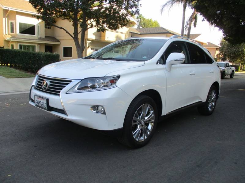 2013 Lexus Rx 350 4dr SUV In Van Nuys CA - I C Used Cars